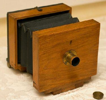 4 x 5 Tailboard Camera - Maker: Unknown c.1885-1890