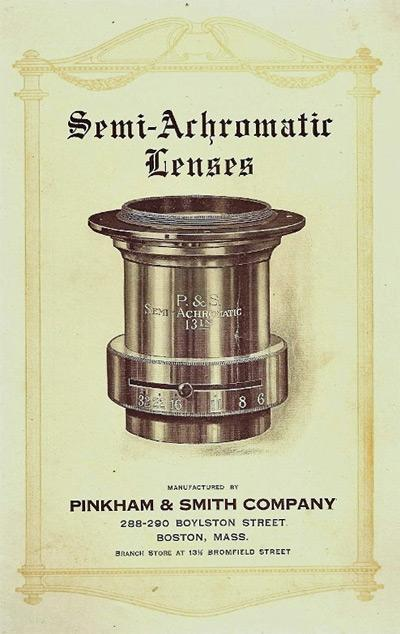 Pinkham & Smith Lens Ad