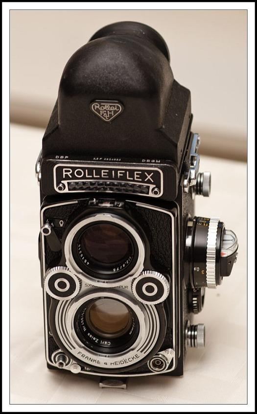 Rolleiflex 3.5F Type 4 with 6 element lens