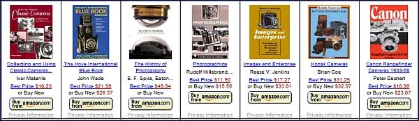 Camera Books on Amazon