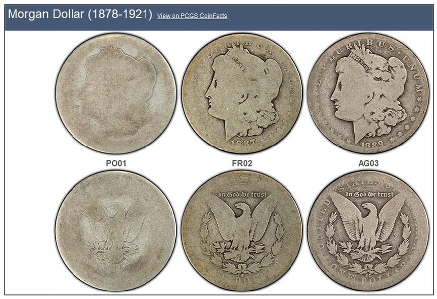 Low Ball Morgan Dollars